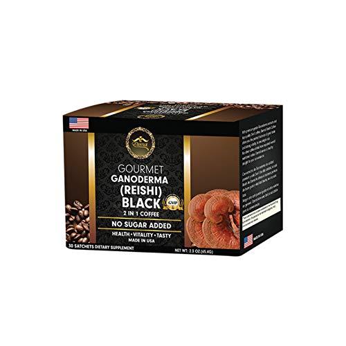 Eternal -Gourmet 2 in 1 Black coffee - with Ganoderma from Eternal Spirit Beauty