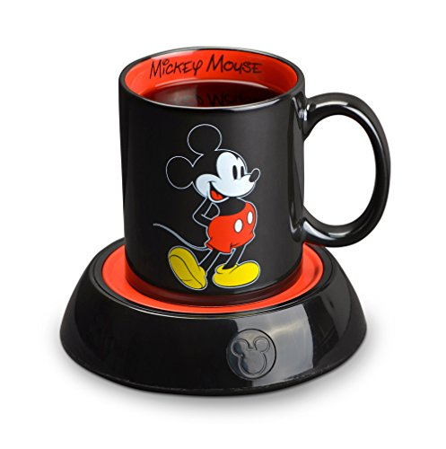 Mickey Mouse Coffee Mug (Disney Mickey Mouse Mug Warmer, Black/Red)