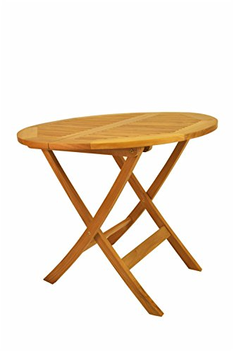 Anderson Teak Set (Anderson Teak Windsor Round Picnic Folding Table,)