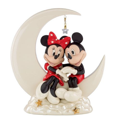 Lenox Classics Mickey And Friends Over the Moon for Minnie Sculpture