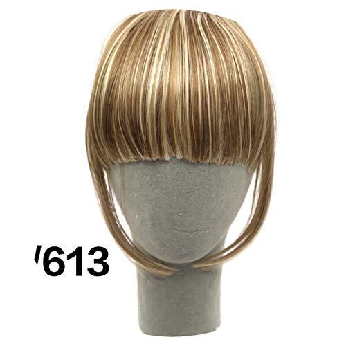 Short Hair Bangs Hairpiece Fake Hair Piece Hair Extensions Bangs 8 Colors,4/30 Is,6]()