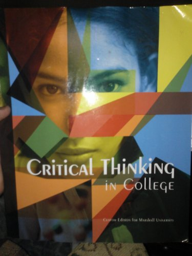 Critical Thinking in College (1256338125)
