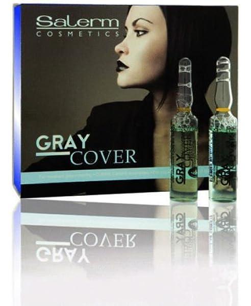 SALERM CUBRE CANAS Gray Cover Ampollas 12 x 5 ml: Amazon.es ...