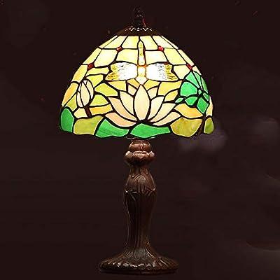 Lámpara de Mesa 8 Pulgadas de Estilo Retro Tiffany ...