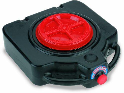 Lumax LX-1632 Black 15 Quart Drainmaster Drain Pan and Waste Oil Storage