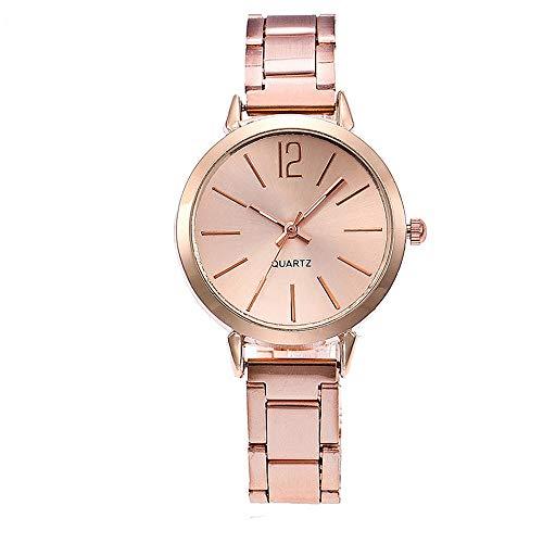 - Kauneus  Women Classical Watches Casual Quartz Watch Analog Dial with Calendar Stainless Steel Bracelet
