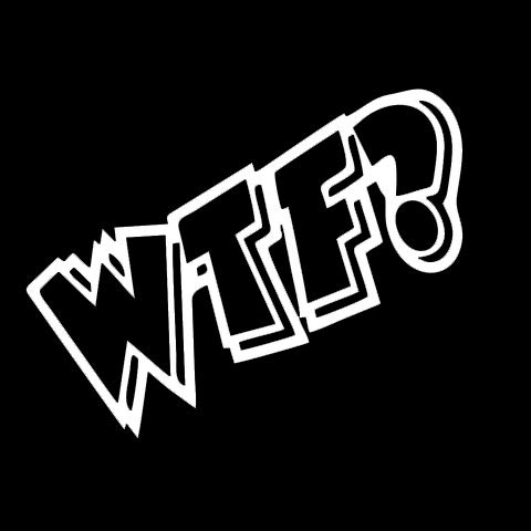 CCI WTF What The Fuck Where's The Food Funny Decal Vinyl Sticker|Cars Trucks Vans Walls Laptop|Black|5.75 x 2.5 (Best Cci Dog Foods)