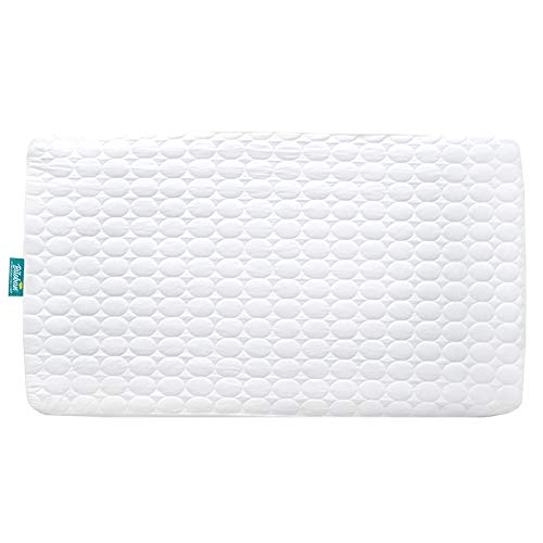"""Biloban Toddler Waterproof Crib Mattress Pad Cover,Hypoallergenic,Machine Washable & Dryer Organic Fit Baby Bed Mattress Protector( Standard Size 52"""" x - Memory Foam For Crib"""