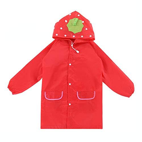 YuYe Kids Boys Girls Rain Coat Waterproof Cartoon Animals Rainwear Rainsuit Raincoat - ()