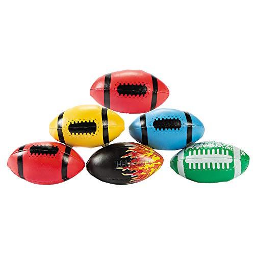 Fun Express - Football Kickball Assortment (50pc) - Toys - Assortments - 50Pc Assortments - 50 Pieces