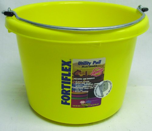 Horses Grooming Kit Fortiflex 2 Gallon Utility Bucket Blue