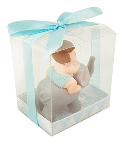 Homeford FHS0PBA083BL Polyresin Baby Shower Favors, 3-1/2...