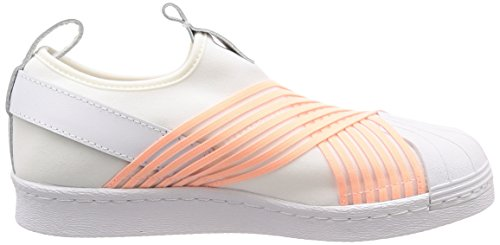 Blanco Superstar Low Women's on Slip Top 000 White adidas Sneakers n8fq1q