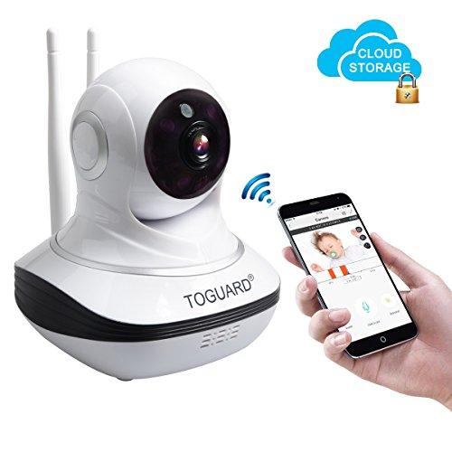 Toguard Wireless Security Camera, Cloud Storage Live Steam H