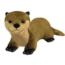 "First & Main 7"" Floppy Friends Brown Otter Basic Plush Toys"
