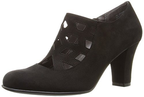 Aerosoles Women's Petroleum Boot, Black Fabric, 11 M US