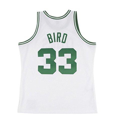 Mitchell & Ness Boston Celtics Larry Bird White Swingman Jersey (XX-Large)