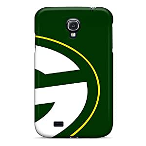 Hard Plastic Galaxy S4 Cases Back Covers,hot Green Bay Packers Cases At Perfect Customized