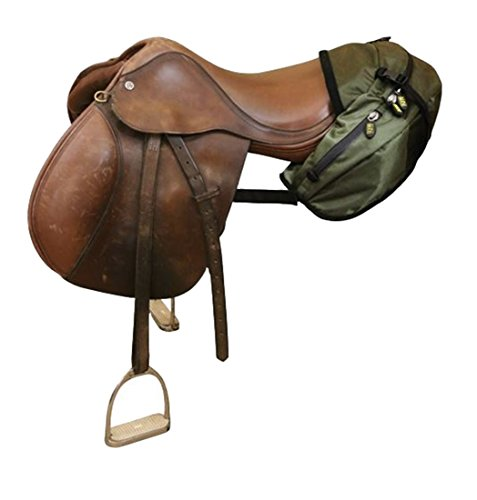 trailMAX Satteltasche Englisch, Cantle Pocket Packtasche grün