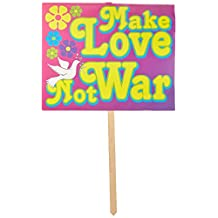 Beistle 54916 1-Pack 60's Yard Sign, 12-Inch by 15-Inch