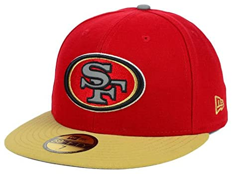 bdbd2f7ab New Era Nfl 59fifty Men's Hat Thanksgiving Series Fitted Cap San Francisco  49ers (7 1
