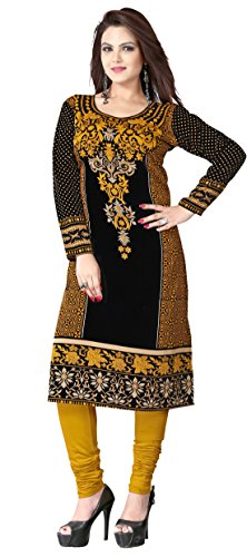 Maple Clothing Tunic Top Kurti Printed Womens Blouse Indian Clothes – S…Bust 34 inches, Bronze
