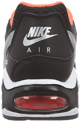 total Max Black Schwarz Command NIKE Crimson 067 Noir Baskets Enfant Air Mixte Silver Metallic GS Basses SgAOA