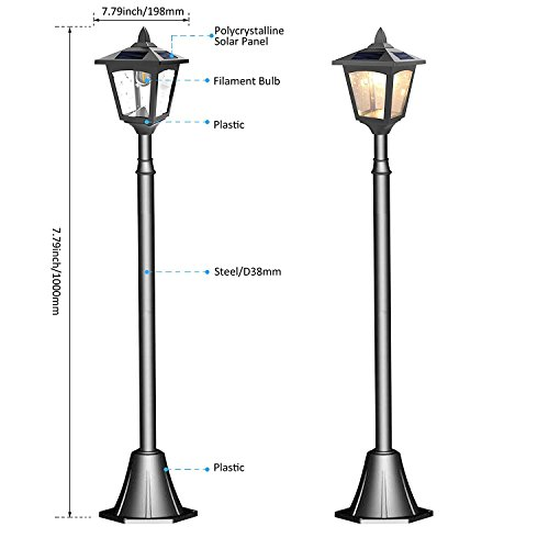 Outdoor Lamp Post Patio - 9