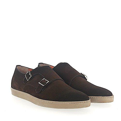 Sneaker Double-monnik 15506 Bruine Suede