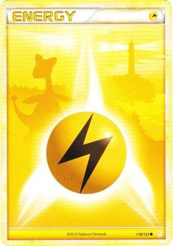 Pokemon - Lightning Energy (118/123) - HeartGold SoulSilver (Lightning Energy Pokemon Card)