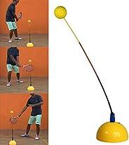Tennis Trainer Rebound Baseboard Tennis Ball Bounce Training Tool,Practice Training Balls Machine Wearable Mul