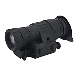 Night Vision Telescope Monocular Waterproof Infrared Scope IR Digital Monocular Device PVS-14 for Helmet