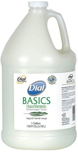 DIAL CORPORATION PURE AND NATURAL LIQUID HAND SOAP WHITE FLORAL FRAGRANCE 1 GAL 8628