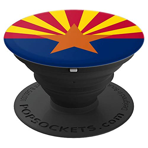 (Arizona Copper Star Sunset Grand Canyon State Flag - PopSockets Grip and Stand for Phones and Tablets)