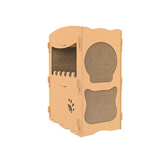 CXQ Creative Double-Decker Bungalow Climbing Cat Scratching Cat Litter Sofa Cat Climbing Cat Toy Pet Supplies ()
