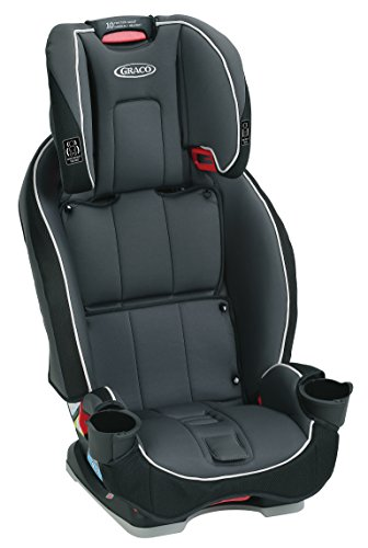 Graco SlimFit 3 in 1 Convertible Car Seat | Infant to Toddler Car Seat, Saves Space in your Back Seat, Darcie