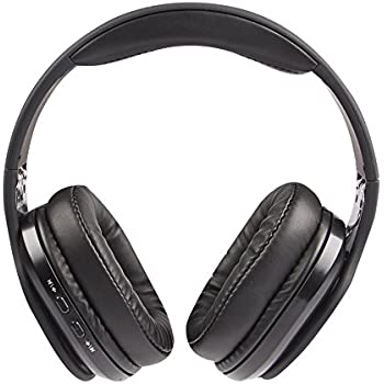 Altec Lansing MZX667-BLK Hands-Free Bluetooth Waterproof Headphones Evolution2 33FT Range 12 Hour Battery- Black