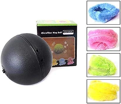 Chidi Toy Magic Roller Ball, 2-en-1 función de la Bola del Juguete eléctrico del Animal doméstico con 4 Cubiertas de Lana para Perro Gato Mascota, Juguetes educativos para Mascotas Mascota Bola mágic