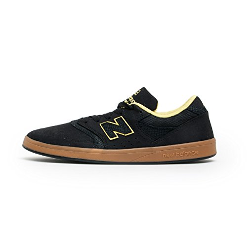New Balance - Zapatillas de skateboarding para hombre negro negro