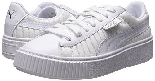 White puma Plateau Basket Scarpe 365466 Donna Da Pumapuma Con Puma White qpvTvz