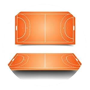 alfombrilla de ratón campo de balonmano - ronda - 20cm
