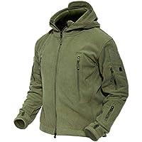 MAGCOMSEN Men 's Windproof Warm Military Tactical Fleece...