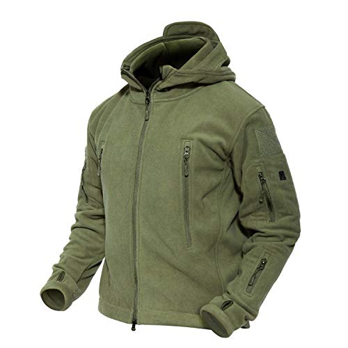 m Jacket Military Jacket Army Jacket Hunting Hiking Jacket Tactical Fleece Jacket ()