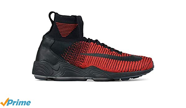 d0941f98e2f0d Amazon.com  NIKE Zoom Mercurial Xi Flyknit FC Shoe  University Red  (7)   Shoes