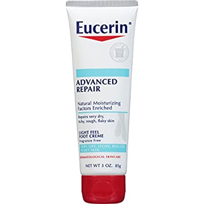 Eucerin Advanced Repair Foot Creme 3 Ounce (Pack of 3) (Packaging May Vary)