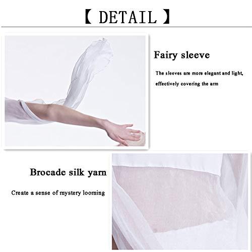 Cuello De Women's Con Yoga Lírico Carnaval Gimnasia Ballet Clothing Traje Mangas Danza Sexy Chifón Vientre Pantalones En V Elegantes Harén White Tul Del Ropa Disfraz Camiseta EwnqvqCr