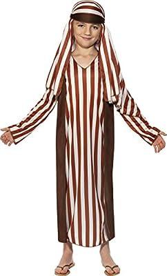Smiffys Genéricos - 354418 - Disfraz Pastor Boy Navidad - 10 a 12 años