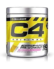 Cellucor ID Series C4 Pre Workout Original Pink Lemonade Dietary Supplement 60 Servings