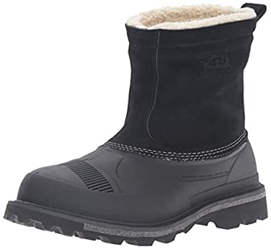 Amazon.com | Woolrich Men's Fully Wooly Slip Snow Boot