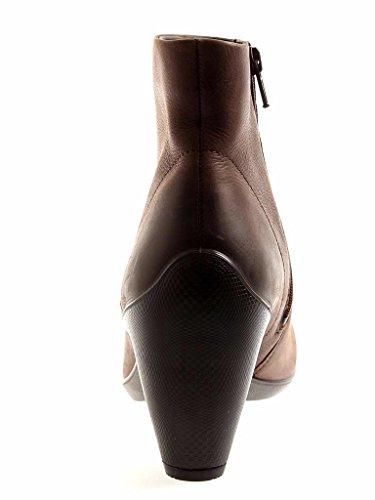 ecco Stiefelette Lederschuhe Damen Schuhe Leder moro 6079